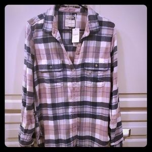 American Eagle soft flannel shirt